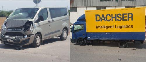 Se salta un stop y me arruinan la vida.   «Yo adoraba mi camión y mi trabajo»