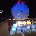 Detenido un joven francés que conducía un camión con 190 kilos de droga en el interior de la cisterna
