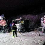 Un incendio que pudo ser provocado calcina ocho camiones de Emalsa y provoca daños «millonarios»