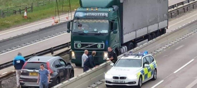 Dos camioneros condenados a prisión después de conducir ebrios contradirección sobre la A19 en Inglaterra
