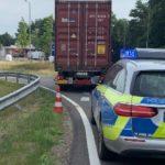 La policía alemana avisa tras el incremento de infartos: «No quiero tener que sacar a ninguno de ustedes sin vida del camión»