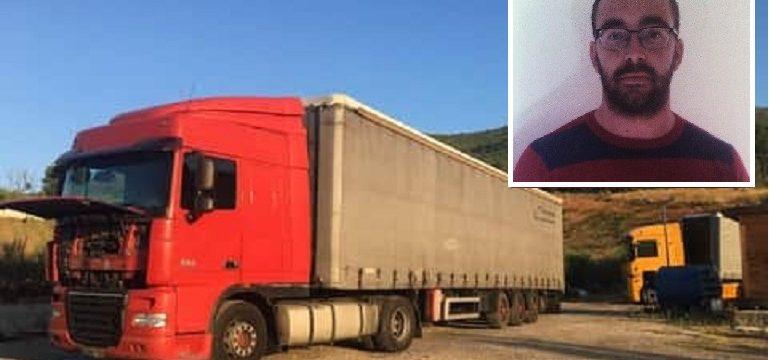 A siete días, la desaparición del camionero Bruno Miguel Cardoso, sigue siendo un misterio