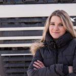 Katya, una camionera rusa de 28 años, habló sobre su trabajo «Mi esposo es economista y trabaja en una oficina, no entiende cómo puedo hacer este trabajo»