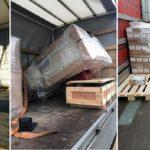 Nueve de cada diez camiones llevan la mercancía cargada de manera incorrecta