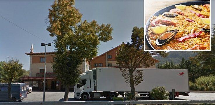 Félix el ángel de los camioneros: «Si mi mujer preparaba una paella, en vez de cocinar para los 2  lo hacía para 30 personas»