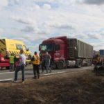 Cuatro niños de entre 8 y 12 años mueren en un dramático accidente con un camión en la RN-2 Francia