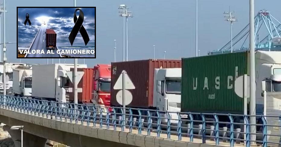 eed camiones protestan