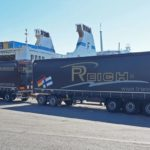 Reich prueba el camión EcoDuo de 32 metros de largo de Schmitz Cargobull, y asegura que será la solución más eficiente al trasporte en toda Europa