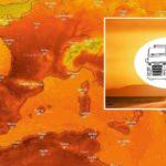 Llega la primera ola de calor: sigue la evolución de las temperaturas en tiempo real