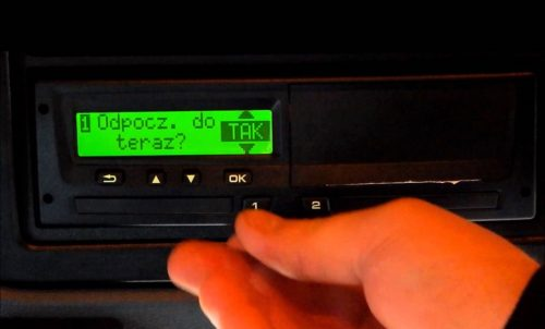 El tacógrafo digital y las causas denunciables por el selector de actividades