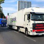 Los camioneros en Alemania si se manifiestan contra lo que les perjudica