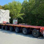 Un pinchazo descubre un transporte excepcional de 170 tn sin permiso: multa de 60.475 euros
