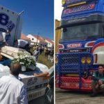 Emotiva despedida a Diogo Clemente, el joven de 20 años amante de los camiones, que murió en accidente de tráfico.