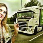 Ana Bautista, la portuguesa que se hizo camionera tras contraer matrimonio con un camionero español, cuenta sus aventuras y desventuras de la carretera