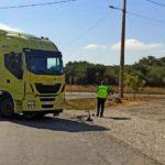 Herido grave un ciclista tras chocar contra un camión en Cualedro
