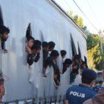 Capturan a un camionero con 120 inmigrantes ilegales en el camión