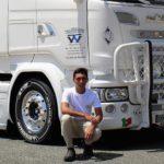 La desgarradora carta del padre del joven de 20 años muerto en accidente que soñaba con ser camionero con un Scania