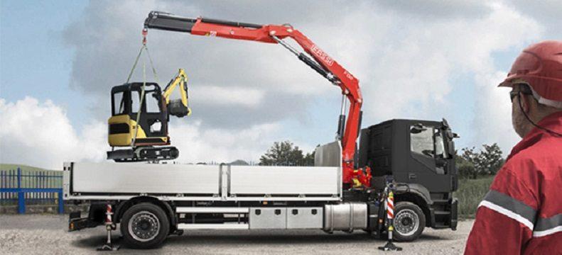 Fassi truck crane F130A e active