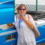 Camionera Carla: mis compañeros son todos amables y serviciales