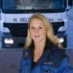 Camionera Marieke, 21 años: «Lo mejor de este trabajo es la libertad que tienes»