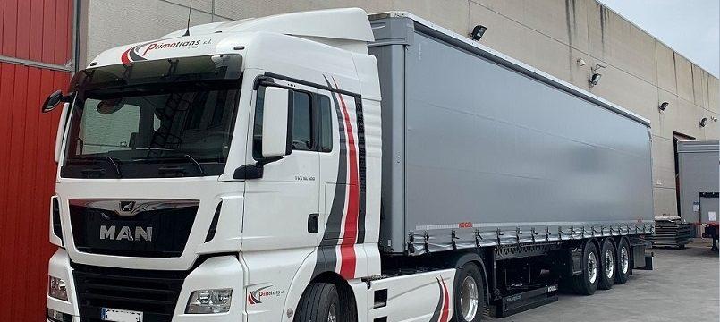 Primotrans necesita  4 camioneros para lona y frigos 2.000 – 2.500€ más incentivos. Ruta nacional, Francia y Portugal