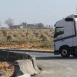 Fallece un camionero asturiano de 59 años atrapado bajo un panel de hormigón que descargaba en Lugo