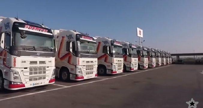 Grupo Logístico Fuentes ha cerrado un acuerdo con Volvo Trucks para la compra de 350 camiones del nuevo modelo Volvo FH