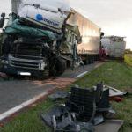 Herido grave un camionero español, en la colisión de dos camiones en la D23c Francia