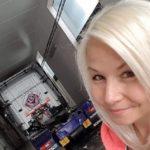 Lissy 38 años, camionera y madre: Este trabajo no siempre es fácil para una mujer, también tienes que ser capaz de ponerte firme.