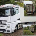 Un camión de Girteka, termina en un lugar inaccesible en el Alto Saona a causa del GPS