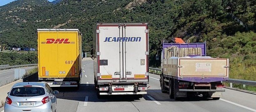 Denunciados 2.525 conductores de camiones y autobuses en una semana por incumplir la normativa de tráfico