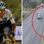 El atropello de un ciclista que murió tras caer desde una altura de 8 metros, causa indignación