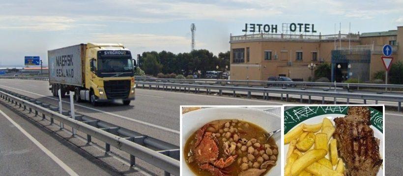 Listado de 40 Restaurantes y puntos de servicio de comida en carretera en Asturias, Cataluña y Navarra