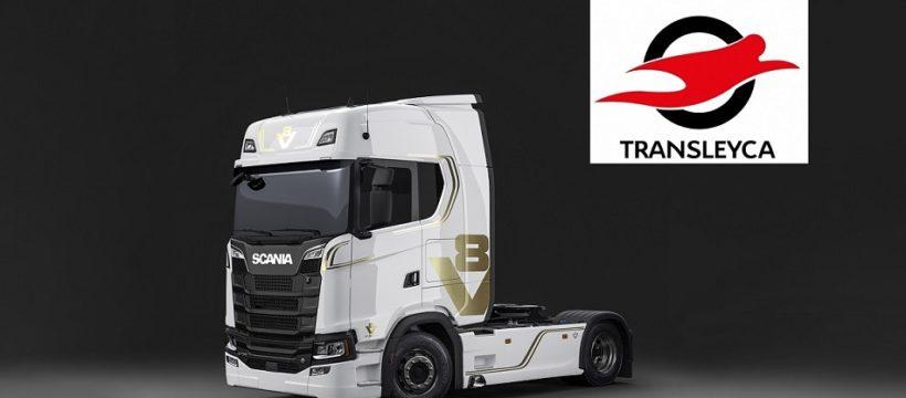 El Grupo Transleyca renueva el 20% de su flota logística de camiones, con Scania R450, Volvo FH500 y Mercedes 1846LS