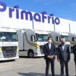 Primafrio recibe las primeras unidades de los 300 Volvo FH con I-Save 460 CV que incorporará a su flota este año