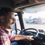 Los camioneros rumanos, que trabajan en el extranjero, dicen que el salario en la comunidad es bueno