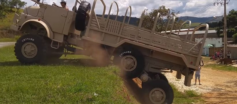 camion mercedes 6x6 mamut 1601649907