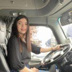 De presentadora a «Camionera» en EEUU: El increíble cambio de una joven hondureña