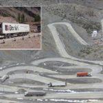 Bajar la Cuesta Caracoles en un camión con 45 toneladas de carga: ¿Cómo se hace?