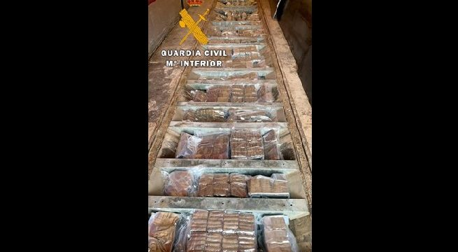 Detenido en Linares un camionero de 42 años que transportaba 420 kilos de hachís y 55 de marihuana