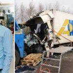 Solicitan ayuda para que la esposa embarazada de un camionero en estado crítico, pueda ir a Bélgica a reunirse con su amado.