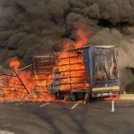 Absuelto un camionero acusado del incendio de 8 remolques de camiones y una casa