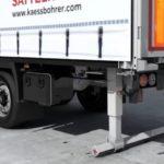 Presentan el parachoques plegable Kässbohrer. ¿Cómo ayuda a los conductores? Vídeo