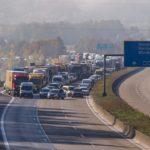 Personas no identificadas disparan a camioneros desde un puente de la A7 cerca de Eichenzell