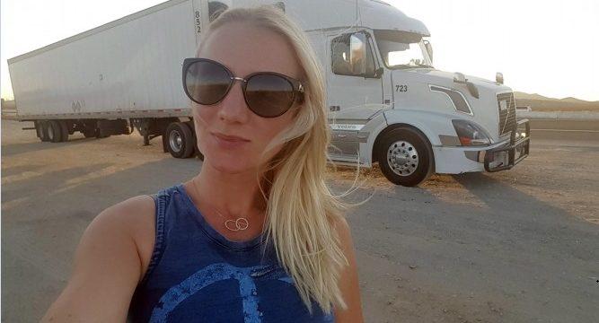 La historia de una mujer moldava de 29 años, camionera en Estados Unidos