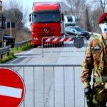 Italia cierra el jueves a las 22.00 horas. Los conductores profesionales deben mostrar justificantes