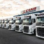 """Juan Cano incorpora 120 Volvos FH con I-Save, por """"elbienestar de los trabajadores"""""""