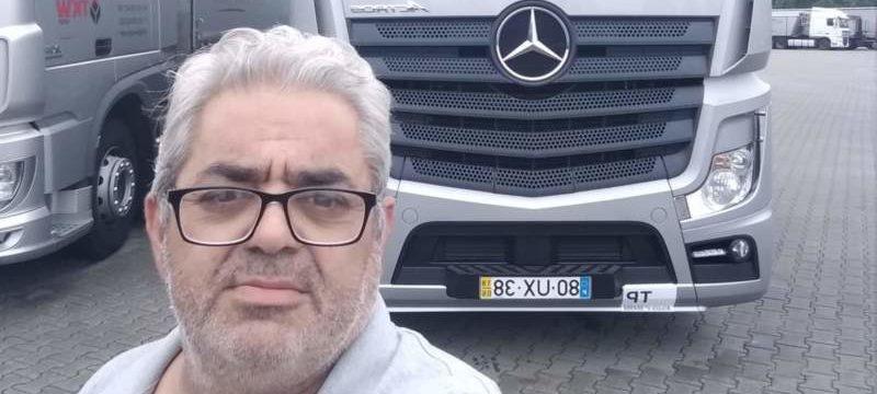 Otro conductor que hizo su último viaje, el compañero Luis Carvalho