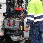 Detenidos los miembros de una banda dedicada al robo de baterías de camiones