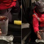 Denunciado  un camionero por saltarse un control mientras tomaba un cubata de whisky con cola